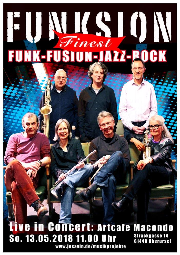 Funksion Jazz Rock und Fusion aus Frankfurt