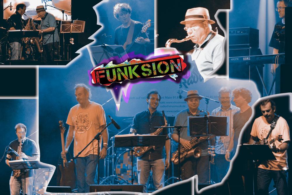 Mainuferfest 2016, Konzert FUF, Funk und Fusion Frankfurt